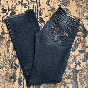ReRock for Express jeans. Size 2R boot.